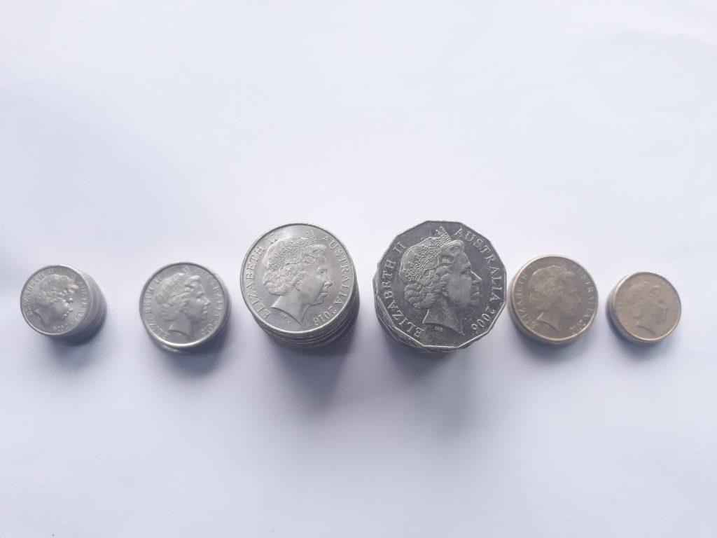 オーストラリアのコイン
