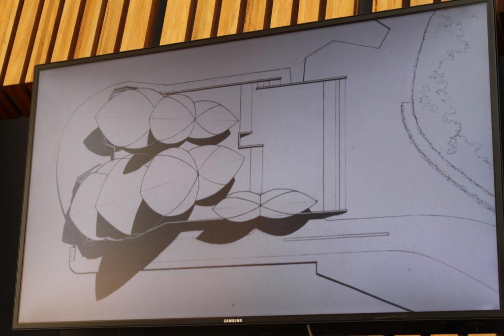 シドニー・オペラハウス設計図
