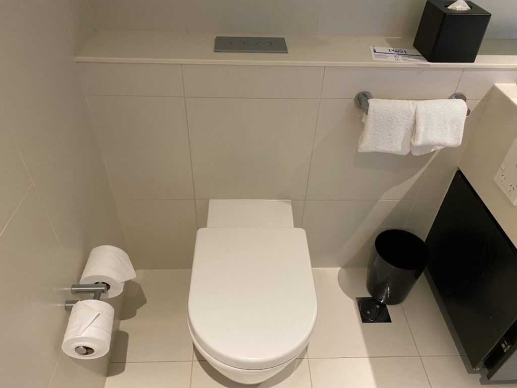 ヒルトン・サーファーズパラダイスのトイレ