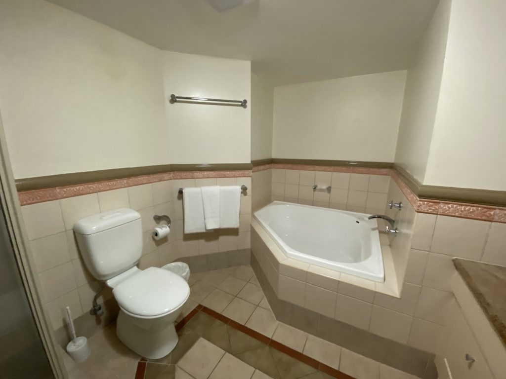マントラ・クラウン・タワーズの浴室