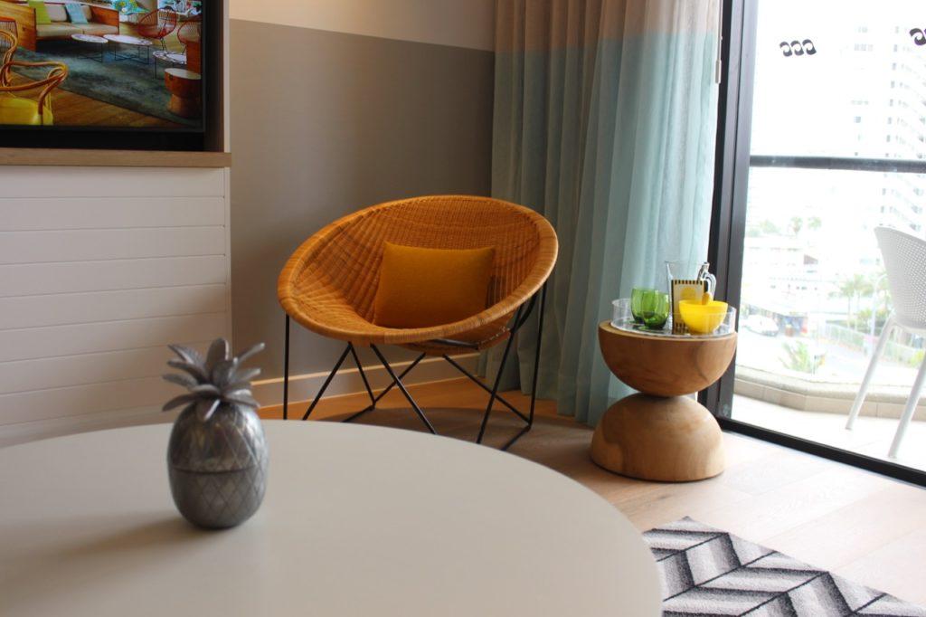 QTゴールドコーストの客室
