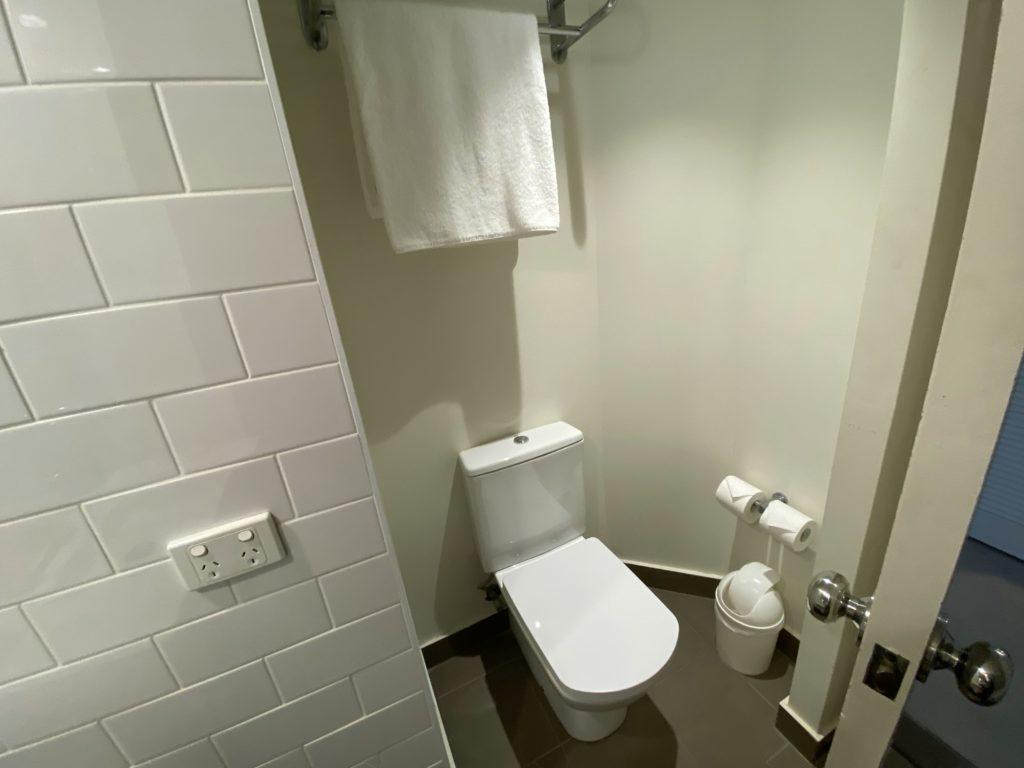 QTゴールドコーストのトイレ